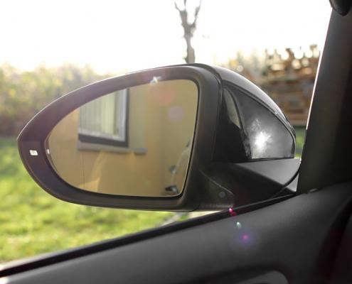 volkswagen golf 7 inklapbare spiegels cartronic. Black Bedroom Furniture Sets. Home Design Ideas